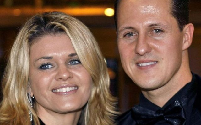 Michael Schumacher e a mulher Corinna