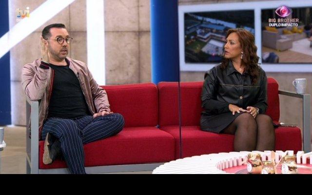 """""""Big Brother"""", TVI, comentadores, Bruno Savate, Joana Albuquerque"""