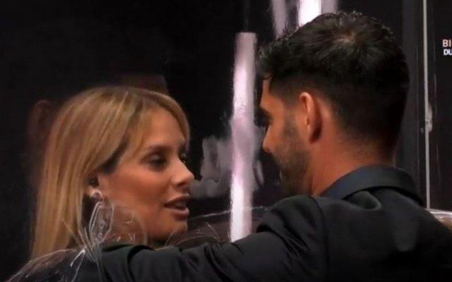 """Helena Isabel e Gonçalo Quinaz reencontraram-se na gala deste domingo do """"Big Brother"""""""