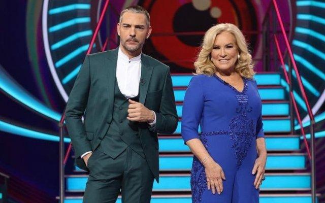 """Cláudio Ramos e Teresa Guilherme do """"Big Brother"""""""