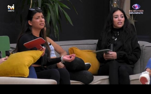"Jéssica Nogueira e Sofia Sousa trocam acusações na casa do ""Big Brother"""