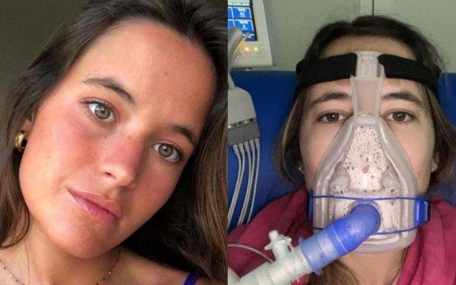 Constança Braddell sofre de fibrose quística
