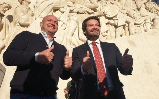 Nuno Graciano e André Ventura