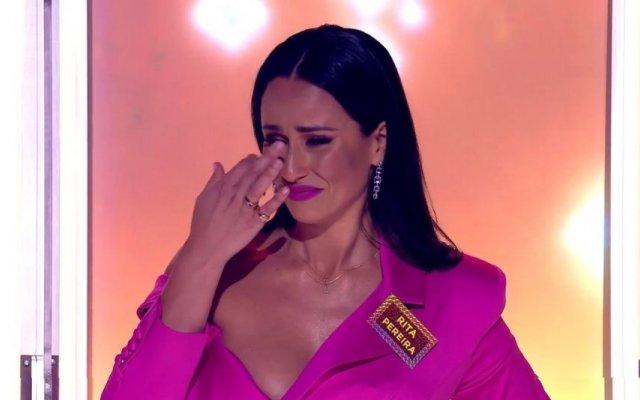 """Rita Pereira em lágrimas no """"All Together Now"""""""
