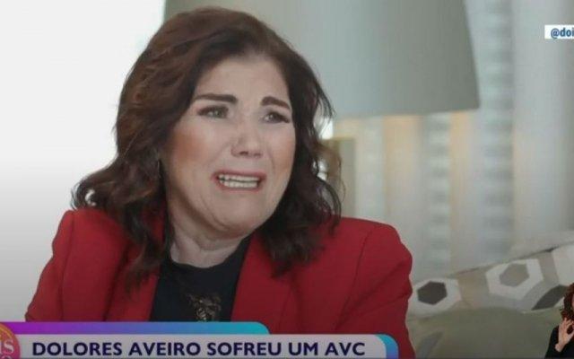 """Dolores Aveiro concedeu uma entrevista a Maria Botelho Moniz para o programa """"Dois às 10"""""""