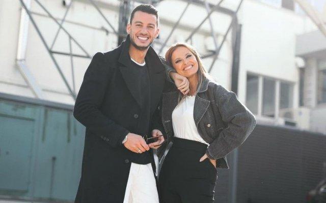 Cristina Ferreira e Ruben Rua não se largam