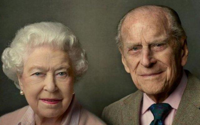 Os momentos não vistos do funeral do marido de Isabel II