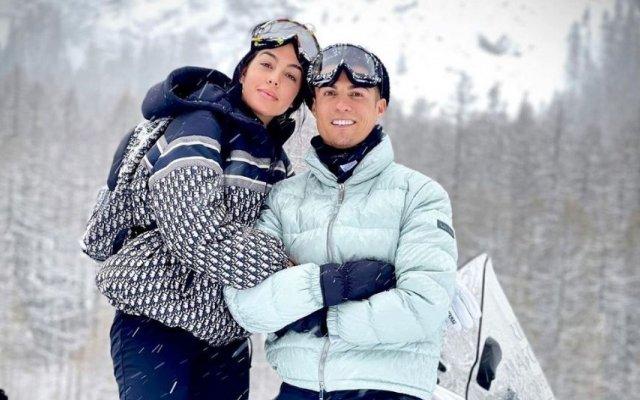 Georgina Rodríguez e Cristiano Ronaldo estão de pedra e cal