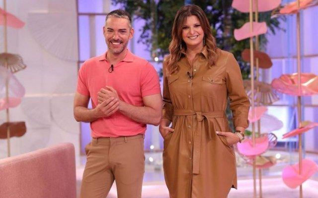 """Maria Botelho Moniz e Cláudio Ramos apresentam o programa das manhãs da TVI, """"Dois às 10"""""""