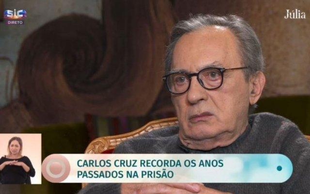 Carlos Cruz recorda vida na prisão e processo Casa Pia