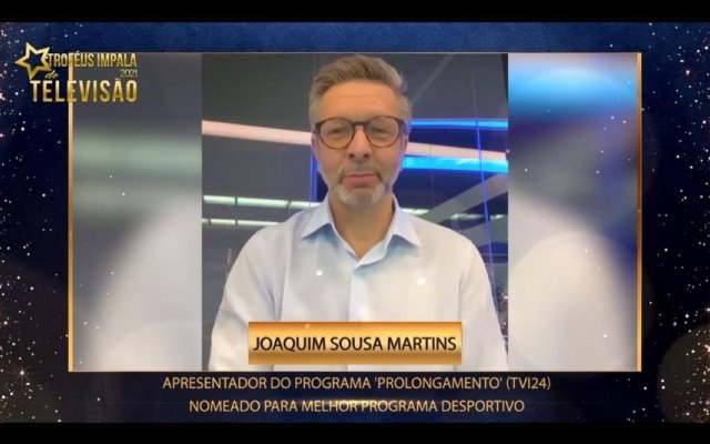 """Joaquim Sousa Martins foi o anfitrião de """"Prolongamento"""""""