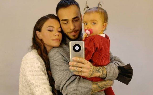Diogo Piçara com a namorada Mel Jordão e a filha do casal, Penélope viajaram até à Madeira