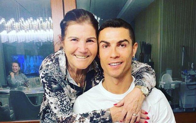 Dolores Aveiro, Cristiano Ronaldo, Sporting
