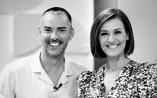 Cláudio Ramos e Fátima Lopes