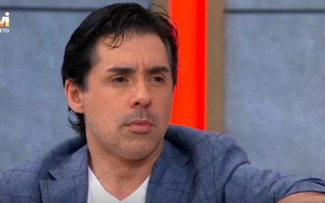 """Pedro Soá foi entrevista por Manuel Luís Goucha, no programa """"Goucha"""", da TVI"""