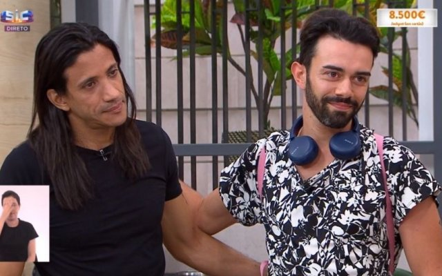 O viúvo e um dos filhos de Maria João Abreu estiveram no programa Casa Feliz, da SIC