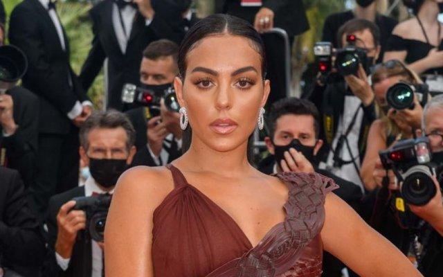 Georgina Rodríguez, Festival de Cinema de Cannes, Cannes, Moda, look, fashion, festival, passadeira vermelha, Cristiano Ronaldo, Cr7, Fotos, Redes Sociais, Instagram, Jean-Paul Gaultier