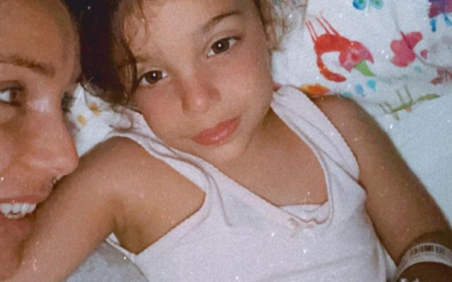 Luciana Abreu, filha, alta hospitalar, Amoor Viktória, pneumonia, vídeo, casa