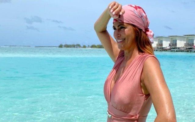Liliana Campos arrasa nas Maldivas com fato-de-banho de 10 euros