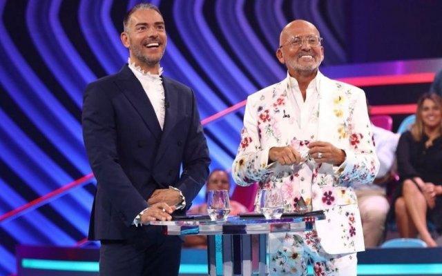 Cláudio Ramos e Manuel Luís Goucha
