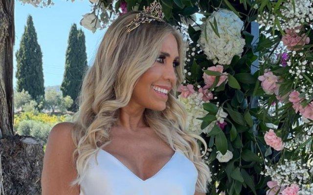 Cláudia Jacques casou-se pela sexta vez com Belmiro Costa