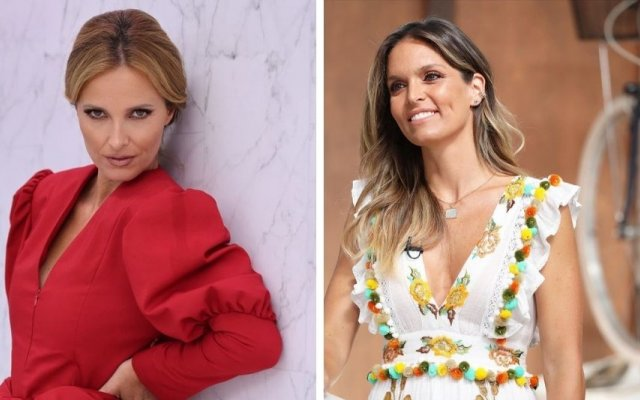 Cristina Ferreira, Diana Chaves, camisa, look igual, mesmo dia, TVI, SIC