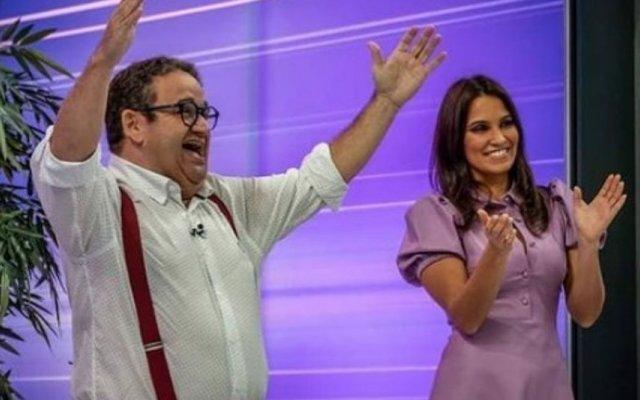 """Teresinha Medeiros, assistente de Fernando Mendes em """"O Preço Certo"""", está grávida"""