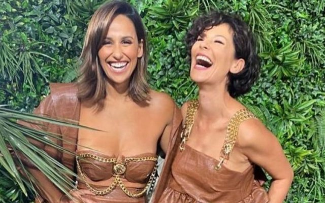 Rita Pereira e Marta Melro estiveram na festa da TVI Ficção com roupas da mesma coleção de uma marca de Braga