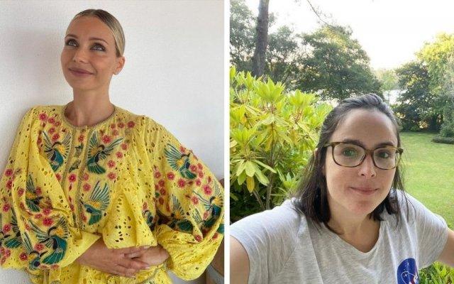 Luciana Abreu e Joana Marques