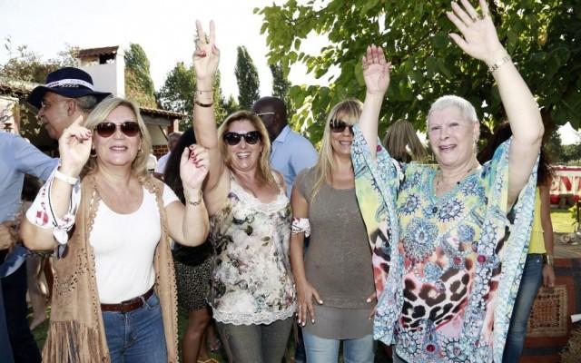 Os famosos divertiram-se na festa da Nova Gente