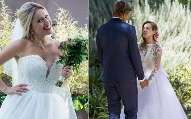 Ana casou com Hugo e Eliana com Dave