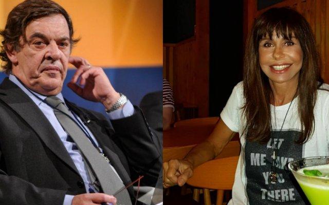 Miguel Sousa Tavares e Manuela Moura Guedes