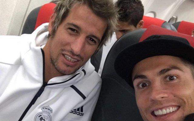 Fábio Coentrão e Cristiano Ronaldo