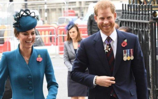 Kate Middleton e Harry