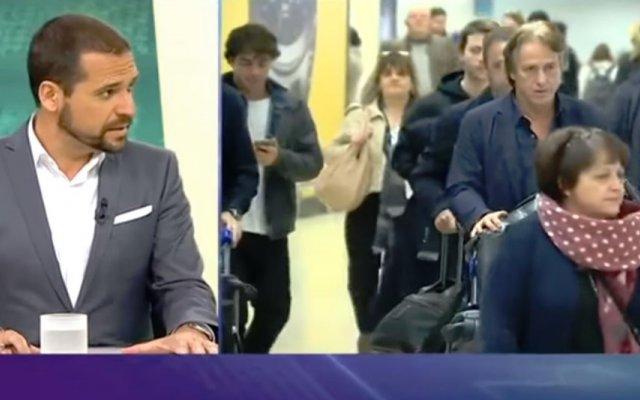 Rui Pedro Braz, comentador da TVI