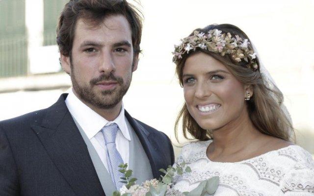 Inês Folque e marido