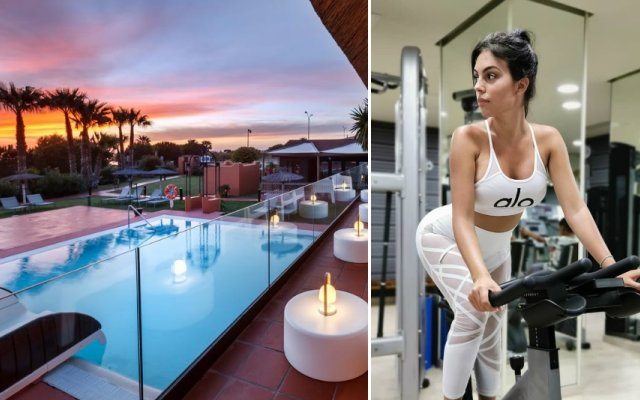 Georgina Rodríguez está de férias num hotel de luxo em Espanha