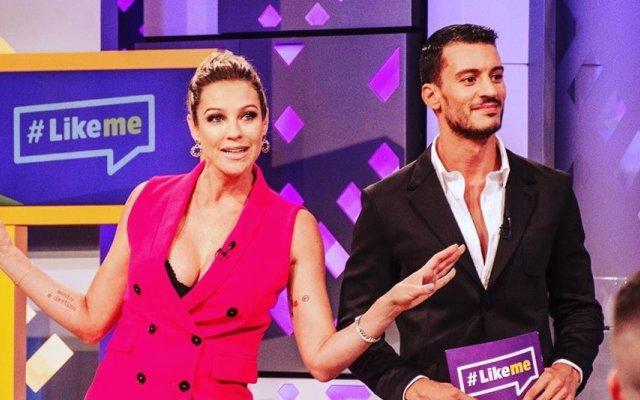 Luana Piovani e Ruben Rua são apresentadores do Like Me
