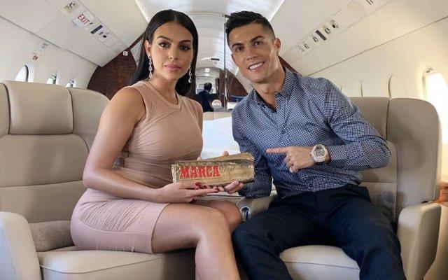 Georgina Rodríguez e Cristano Ronaldo