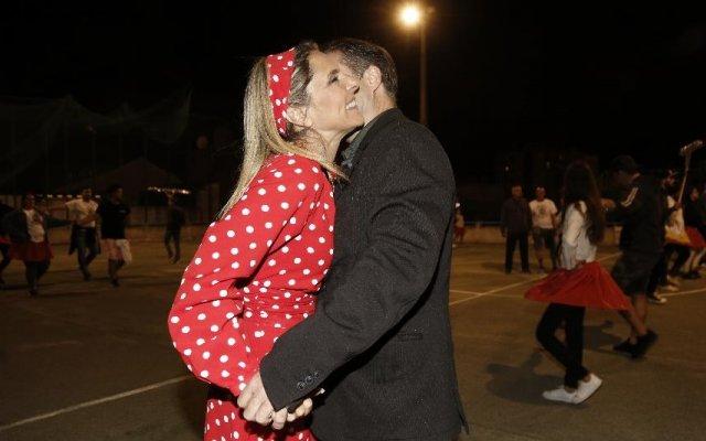Paula Marcelo e Jorge Lopes