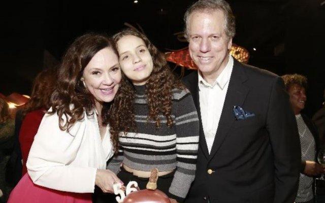 Thaís de Campos e família