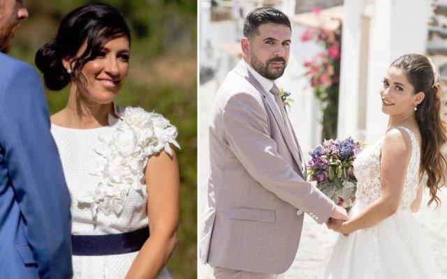 Isabel Fonseca e o casal Anabela e Lucas