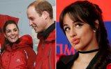 Kate, William e Camila Cabello