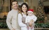 Laura Ferreira e Henrique Mano com a filha Amália