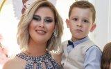Bernardina e o filho Kévim