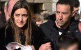 Sofia, a viúva do piloto, o cunhado, Joaquim Rodrigues, e o filho do piloto