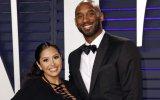 Kobe Bryant com a mulher Vanessa