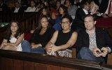 Júlia, Teresa, Laura Ferreira e Pedro Passos Coelho