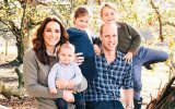 Kate e William com os filhos, George, Charlotte e Louis