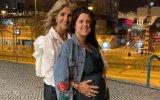 Bibá Pitta e a filha Maria Pitta Paixão